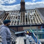 New roof and timbers